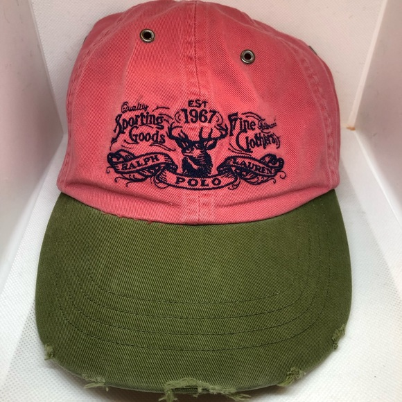 wholesale outlet famous brand later Extremely Rare Vintage Ralph Lauren Polo Cap